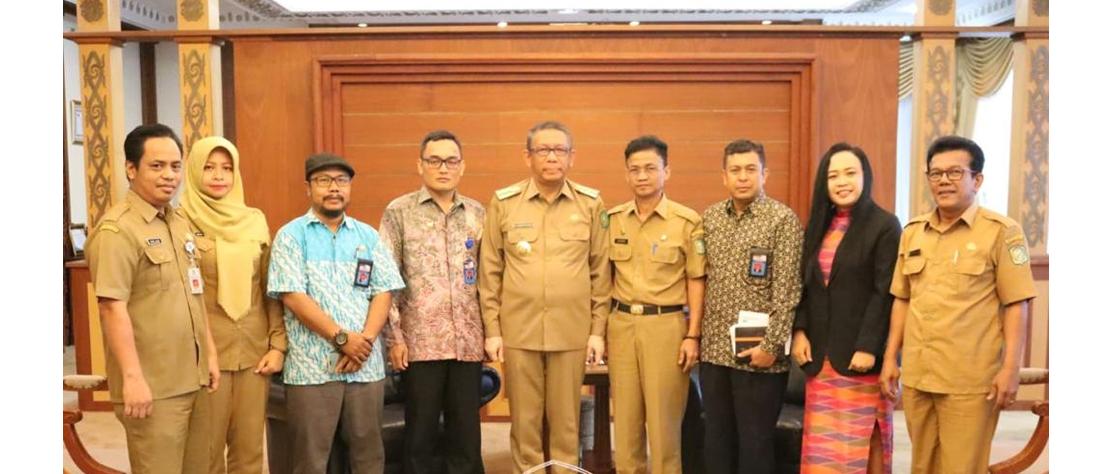 Audiensi Bersama Komisi Informasi Prov. Kalbar dengan Gubernur Kalimantan Barat